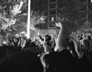 Durham Protest lizzie mcmanus